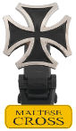 Maltese Cross Boot Strap Clip Only