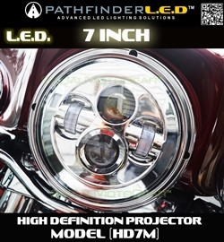 "High Definition 7"" Projector Headlight"